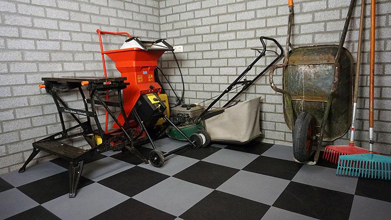 Pvc Tegels Garage : Pvc werkplaatsvloeren vloeistofdicht sterk brandveilig snel
